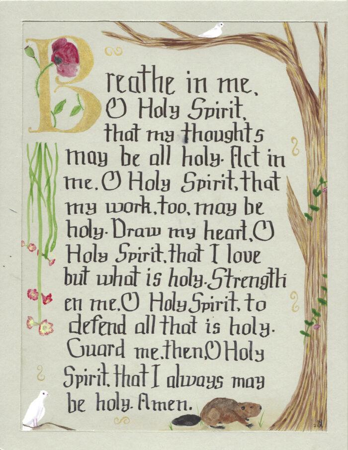 Breathe In Me, O Holy Spirit Illumination